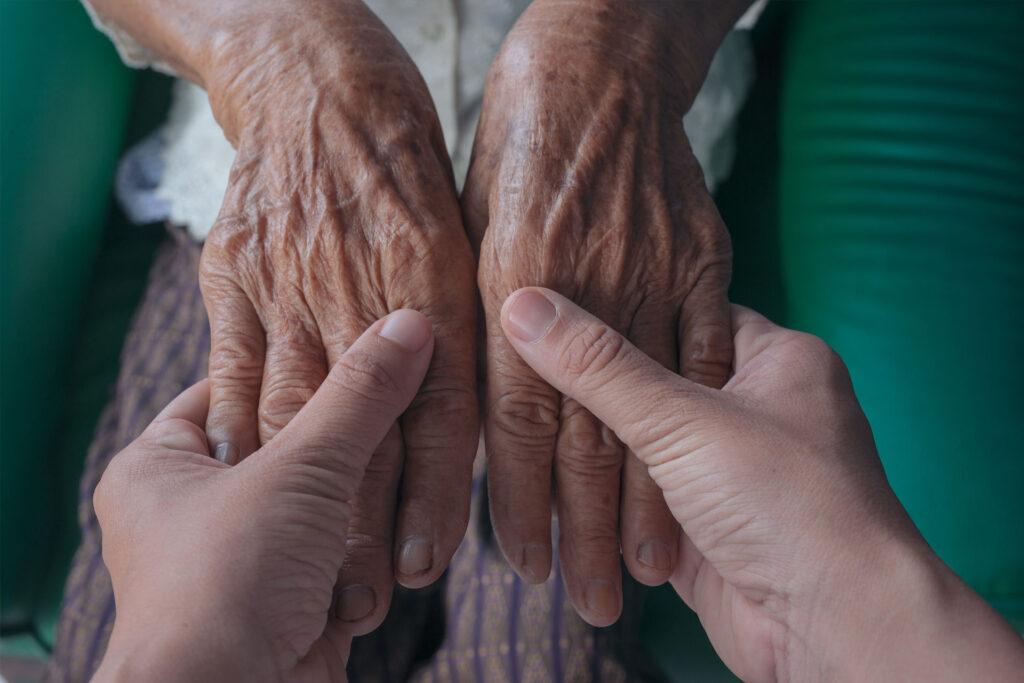 Pomoc dla niewidomej i samotnej Pani Ani